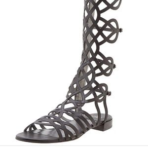 stuart Weitzman size 6 Aphrodite gladiator sandal!